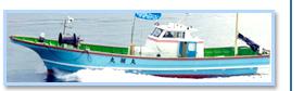FRP船の漁船